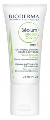 Bioderma Sébium Global Cover 30 ml + 2 g