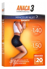 Anaca3 Cosmétotextile Night Slimness Shorty