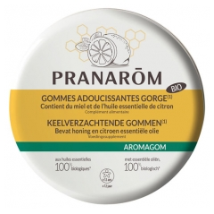Pranarôm Aromagom Throat Softening Gums 45g