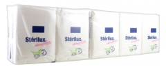 Hartmann Stérilux Softness 10 Packs of 10 White Papers Pocket Size