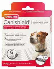 Beaphar Canishield Collar for Small and Medium Dogs 1 Collar