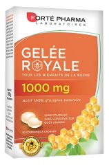 Forté Pharma Royal Jelly 1000mg to Crunch 20 Tablets