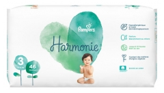 Pampers Harmonie 46 Couches Taille 3 (6-10 Kg)