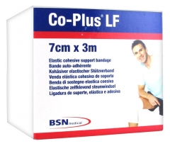 BSN medical Co-Plus LF Bande Auto-Adhérente 7 cm x 3 m