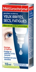 Mercurochrome Tired Dry Irritated Eyes Eye Drops 10ml