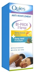 Quies Anti-Snoring Bi-Pack 2 Sprays