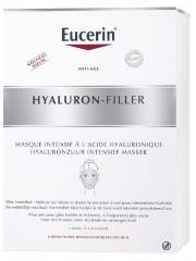 Eucerin Hyaluron-Filler Intensive Mask with Hyaluronic Acid 4 Masks