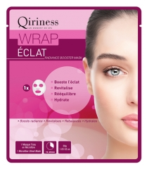 Qiriness Wrap Radiance Booster Mask Microfiber Sheet Mask
