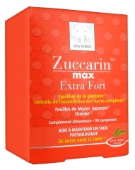 New Nordic Zuccarin Max Extra Fort 90 Tablets
