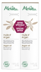 Melvita Huile d'Argan Lot de 2 x 50 ml