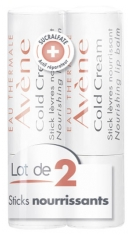 Avène Cold Cream Stick Lèvres Lot de 2 x 4 g