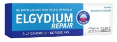 Elgydium Repair Gel Buccal Apaisant Protecteur Réparateur 15 ml