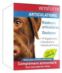 Vetoform Joints Food Supplement for Dogs 100g