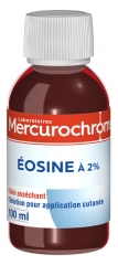 Mercurochrome Eosine à 2% 100 ml