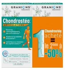 Granions Chondrostéo Joints 2 x 120 Tablets