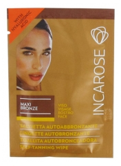 Incarose Maxi Bronze Self-Tanning Wipe Face 6ml