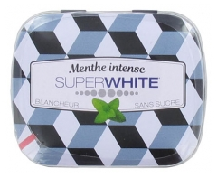 Superwhite Menthe Intense 50 Pastilles