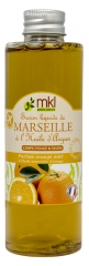 MKL Green Nature Savon Liquide de Marseille Huile d'Argan Orange Miel 100 ml
