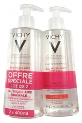 Vichy Pureté Thermale Mineral Micellar Water 2 x 400ml