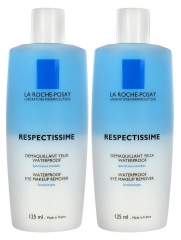 La Roche-Posay Respectissime Make-Up Entferner Waterproof 2 x 125 ml