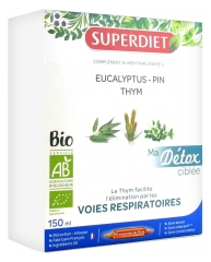 Super Diet My Targeted Detox Respiratory Tracts Organic 10 Phials