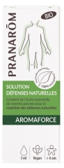 Pranarôm Aromaforce Organic Natural Defenses Solution 5ml