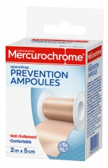 Mercurochrome Sparadrap Prévention Ampoules 2 m x 5 cm