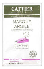 Cattier Pink Clay Mask Sensitive Skin 12,50ml
