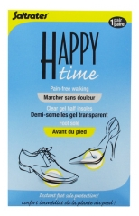 Saltrates Happy Time Vorderfußpolster - Transparente Gel-Halbsohlen