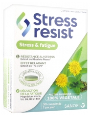 Sanofi Stress Resist Stress & Fatigue 30 Comprimés