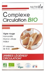 Nutrivie Complexe Circulation Bio 20 Ampoules