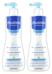 Mustela Gel Lavant Doux Lot de 2 x 500 ml