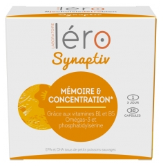 Léro Synaptiv Intellectual Concentration 30 Tablets