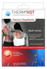 TheraPearl ThermHot 2 Patchs Chauffants Multi-Zones