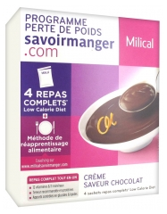Milical Weight Loss Program Cream 4 Sachets