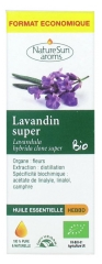NatureSun Aroms Organic Essential Oil Super Lavandula (Lavandula Hybrida Clone Super) Economic Size 30ml