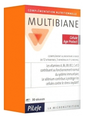Pileje Multibiane Age Protect 30 Gélules