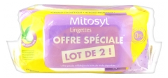 Mitosyl Lingettes Biodégradables Lot de 2 x 72 Lingettes