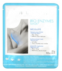 Talika Bio Enzymes Mask Décolleté Radience Boost Mask Second Skin
