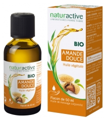 Naturactive Organic Sweet Almond Vegetable Oil 50ml