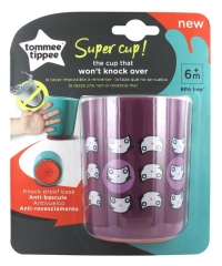 Tommee Tippee Super Cup Tasse Anti-Bascule 6 Mois et + 190 ml