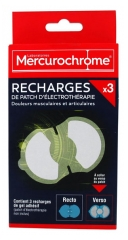 Mercurochrome 3 Electrotherapy Patch Refills