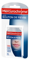 Mercurochrome Cold Sore Patches 15 Patches