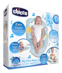 Chicco First Dreams My First Nest Alfombra 3en1 0 Meses y +