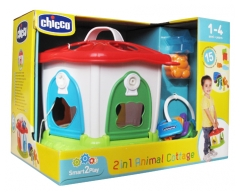Chicco Smart2Play 2-in-1 Animal Cottage 1-4 Years