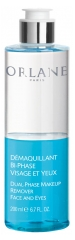 Orlane Dual-Phase Makeup Remover Face and Eyes 200ml
