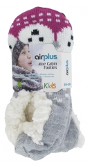 Airplus Aloe Cabin Chaussons Hydratants Pointure 28-36
