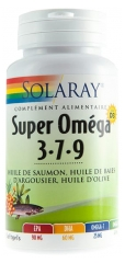 Solaray Super Oméga 3-7-9 60 Softgels