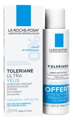La Roche-Posay Tolériane Ultra Eye Contour 20ml + Free Dermo-Cleanser 50ml