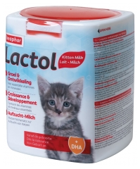 Beaphar Lactol Growth and Development Breastfeeding Milk for Kittens 500g